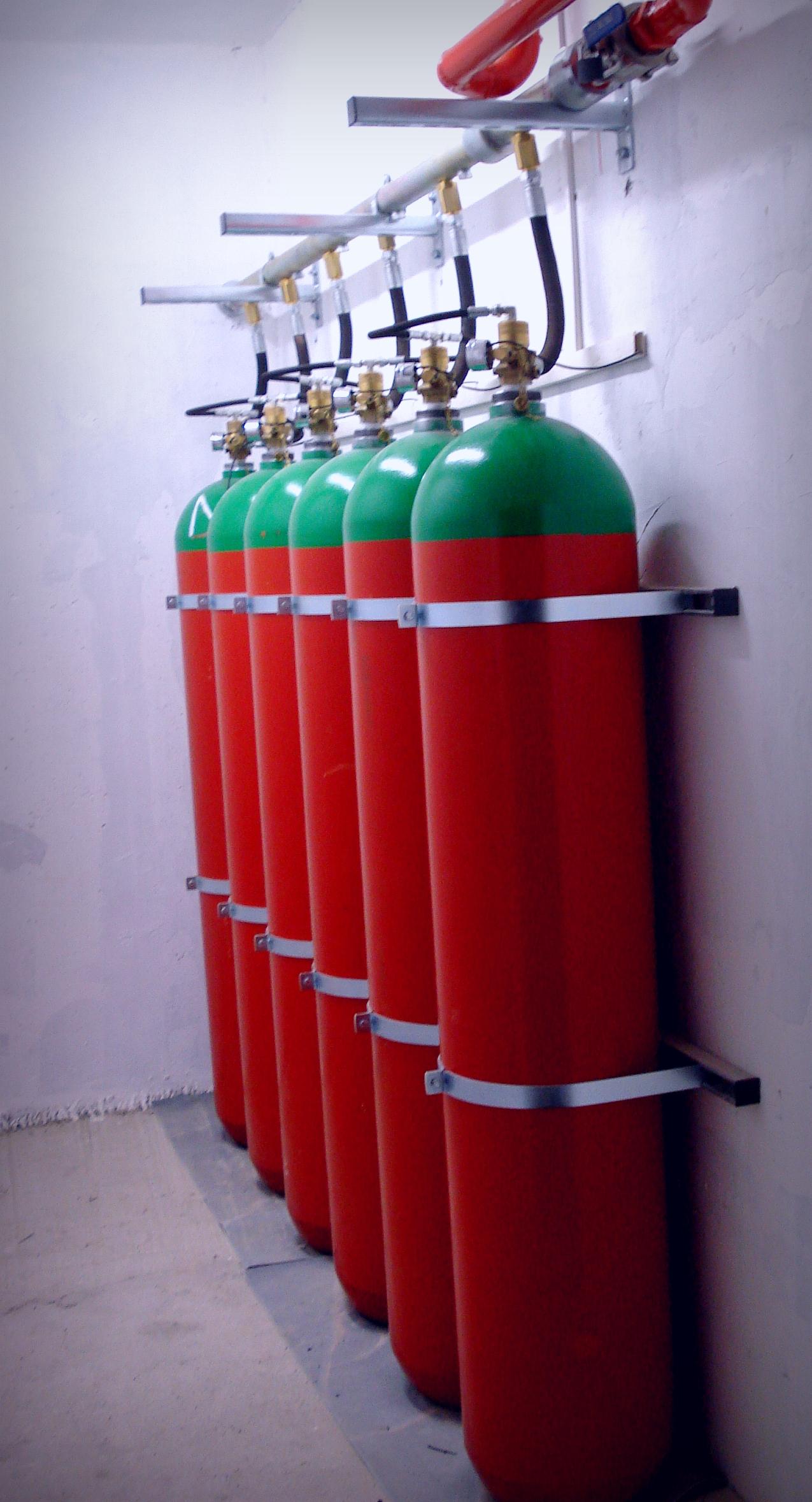 СО2 Fire Suppression Systems