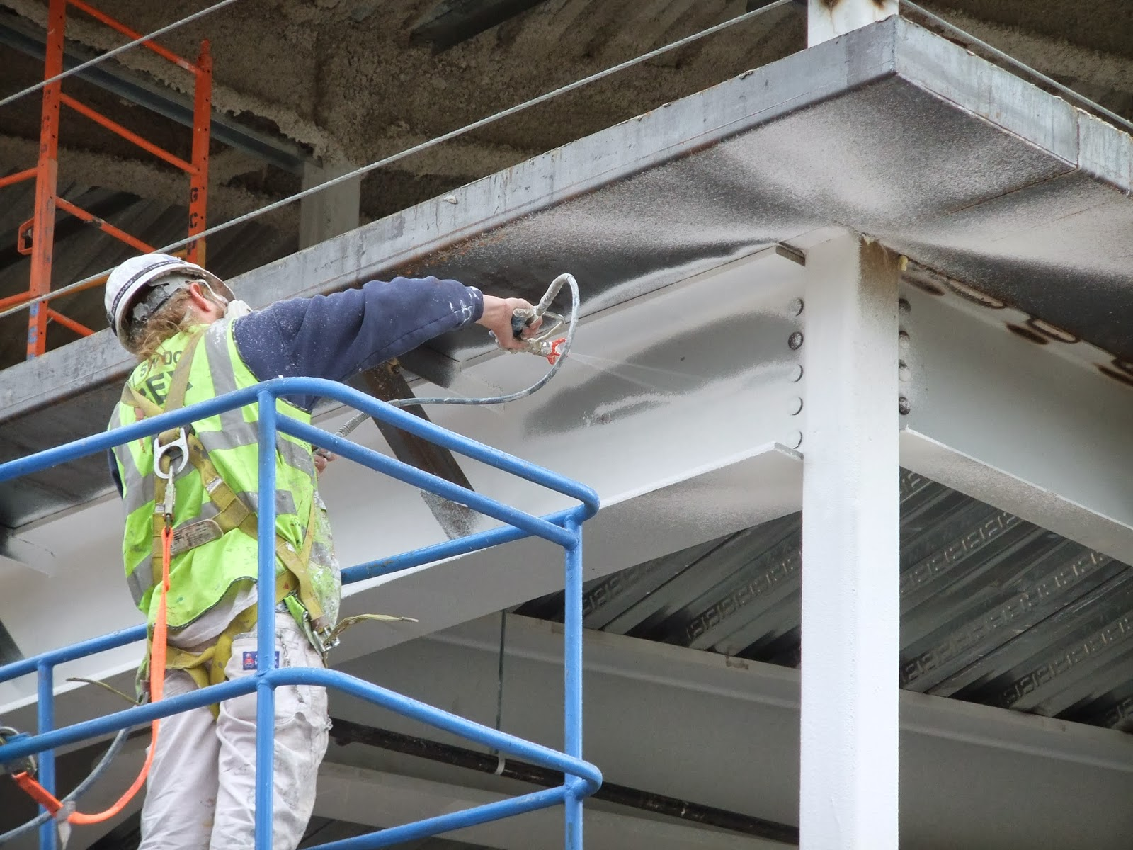 Fire Protection Of Metal Structures With Fireproof Paint